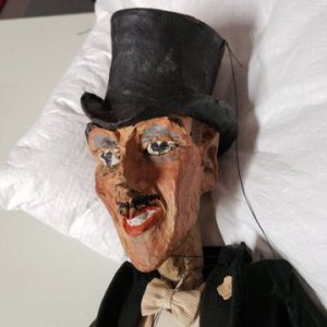 One of the Waldo Lanchester puppets donated in 2019